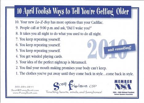 2010 April fools